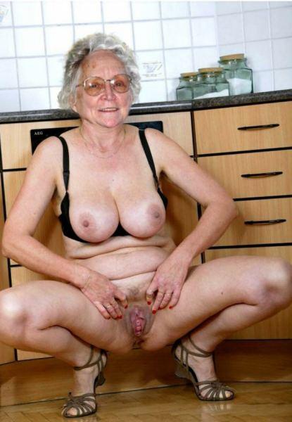 Старуха порно фото старых женщин